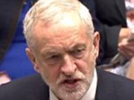 jeremy corbyn explodes with anger after tory made a joke