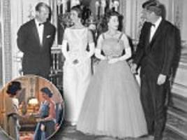 the night the queen lost out to jackie kennedy