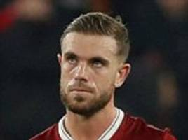 jordan henderson admits liverpool 'let themselves down'