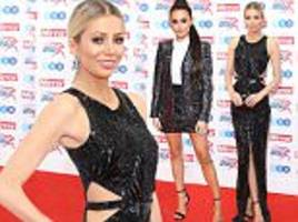 olivia attwood and amber davies pose at pride of sport