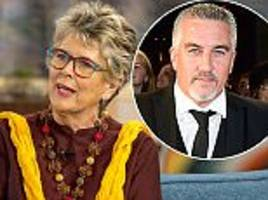 prue leith takes a thinly-veiled dig at paul hollywood