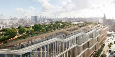 google is finally, officially starting work on its new $1.3 billion london hq (goog, googl)