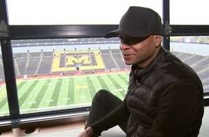michigan native gus johnson gets set to call his first ohio state - michigan game