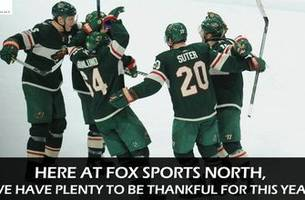 Things we're thankful for in Minnesota sports