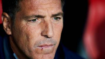 Eduardo Berizzo: Sevilla coach reveals cancer during draw with Liverpool