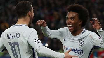Chelsea power through in Champions League