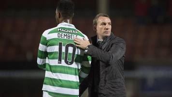 PSG v Celtic: Moussa Dembele tipped to become one of world's best strikers