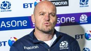 scotland's gregor townsend issues warning after finn russell exit news