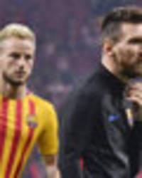 Barcelona star Ivan Rakitic not certain that Lionel Messi will stay at the club