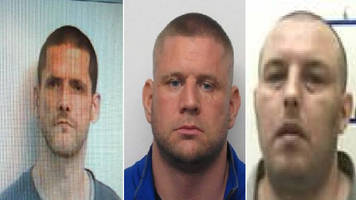 hunt for murderer who has escaped from hmp spring hill