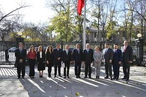 governor silvano aureoles conejo of michoacan, mexico makes historic goodwill tour to china promoting china-mexican trade relations and tourism