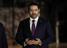 Returning PM attends Lebanon's military parade