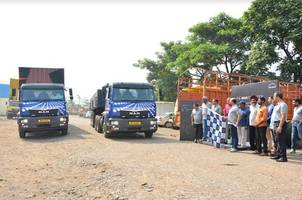 man flags off pan-india drive – the man expedition; initiative to spread awareness about its haulage range