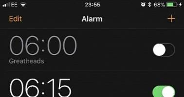 iOS 11 Bug Puts iPhone Alarms on Silent