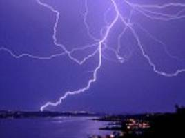 Thunderstorms create radiation in Earth's atmosphere