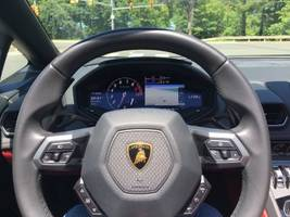 we drove a $314,000 huracan spyder lamborghini — here's what impressed us most about the supercar