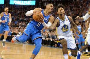 westbrook, thunder dominate durant, warriors 108-91