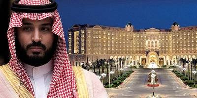 new footage from inside riyadh ritz-carlton reveals princes swapping assets for freedom