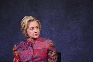 hillary clinton says america is 'totally unprepared' for the impact of ai
