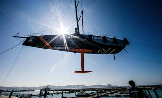 these million-dollar sailboats are racing around the world
