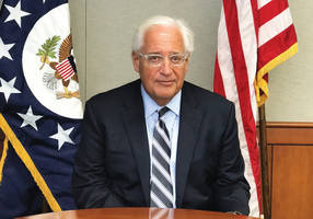 us amb. david friedman drops out of memorial ceremony at west bank outpost