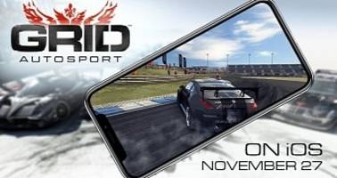 GRID Autosport Racing Game Launches November 27 on iOS, for iPhone and iPad