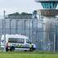 prisoner rushed to hospital following gang-related attack