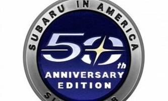 Subaru 50th Anniversary Edition Confirmed For North America
