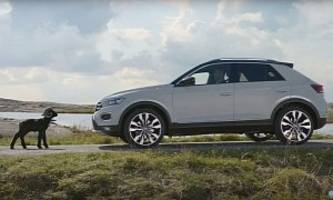 vw t-roc ad suggests even satan might be afraid of the new crossover