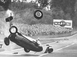 Horrifying images show the old dangers of Formula One