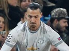zlatan ibrahimovic still not ready for man united start