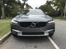 the volvo v90 cross country is a high-tech, luxury station wagon that is easy to love
