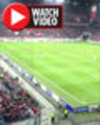 watch arsenal and cologne fans yell 'tottenham are s***' at each other in europa league