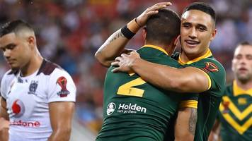 Rugby League World Cup 2017: Australia 54-6 Fiji highlights
