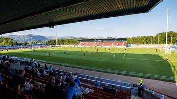 stirling v peterhead: pitch inspection before league two match