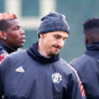 Zlatan pushes for starting spot against Brighton