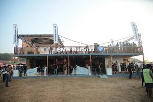 showstopper of the fest: bmw motorrad revs up the throttle at india bike week 2017