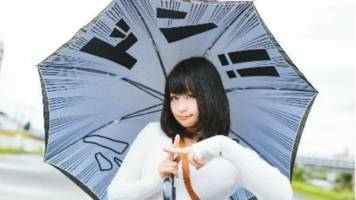 this umbrella lets you feel like you're living in a manga