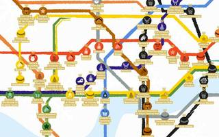 Merry Christmas Londoners: Here's a festive Tube map of the capital