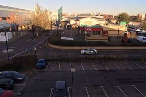 three arrests after police officer suffers head injury while trying to pull over car stevenage