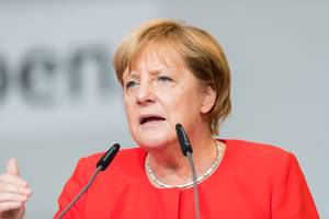 merkel offered path to a majority government
