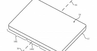 "foldable iphone opening ""like a book"" detailed in apple patent"