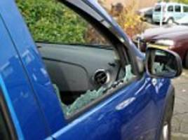 car vandalism jumps by up to 37 per cent in three years