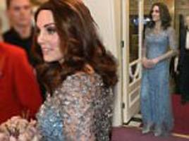 Kate and William meet stars at Royal Variety Performance