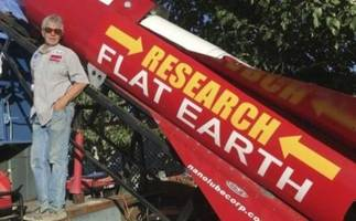 One Man's Mission To Prove The Earth Is FLAT.. With a Steam-Powered Rocket