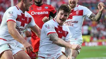 Rugby League World Cup: Tonga 18-20 England highlights