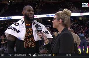 after disciplined thanksgiving, lebron is ready for leftovers and osu/michigan