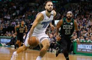 magic's slide grows to 7 with lopsided loss to kyrie irving, celtics