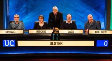 ulster 'veterans' go into battle for third time on university challenge