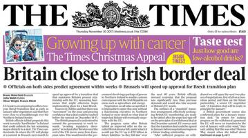 NI paper review: Border 'deal', Brexit, and seal release